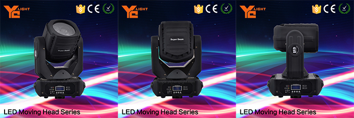 Fine Effect 11/15ch RGBW HSV 36x3W Moving Head Led Beam
