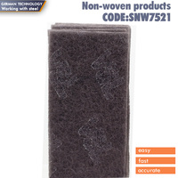 150x230mm BLACK SCOTCH BRITE MAROON ABRASIVE HAND PADS