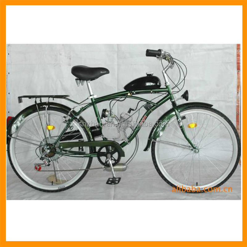 Motorized 48cc 2 stroke single cylinder Beach Cruiser engine parts 2 cycle carburetor in stock