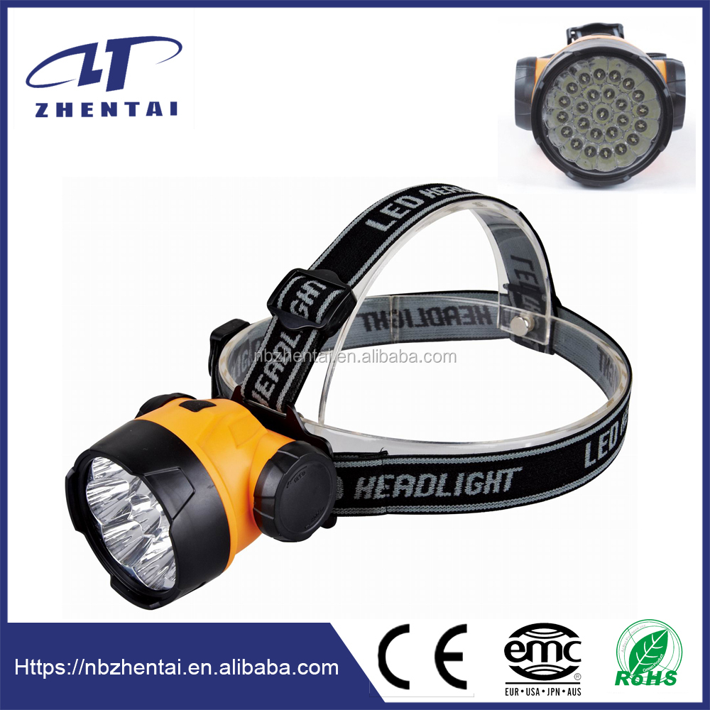 ZT-L25C, Led hunting spotlights lamp with 25 highlight leds, Led water proof headlamp