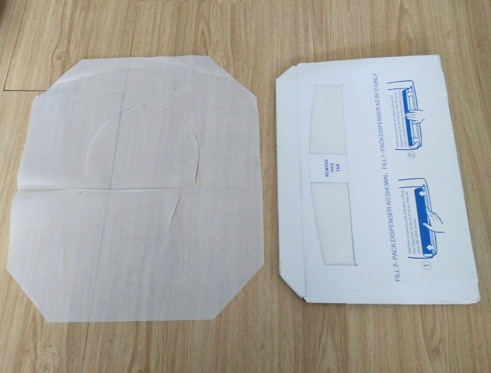 New Product Waterproof Disposable Toilet Seat Cover
