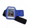Custom fashion adjustable outdoor sport nylon cell phone armband