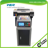 Hot selling high resolution competitive price,printing size A2 420*1200mm,WER-EH4880UV, uv led pencil printer