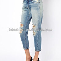 New Arrival Cutout Pocket Dongguan Jeans
