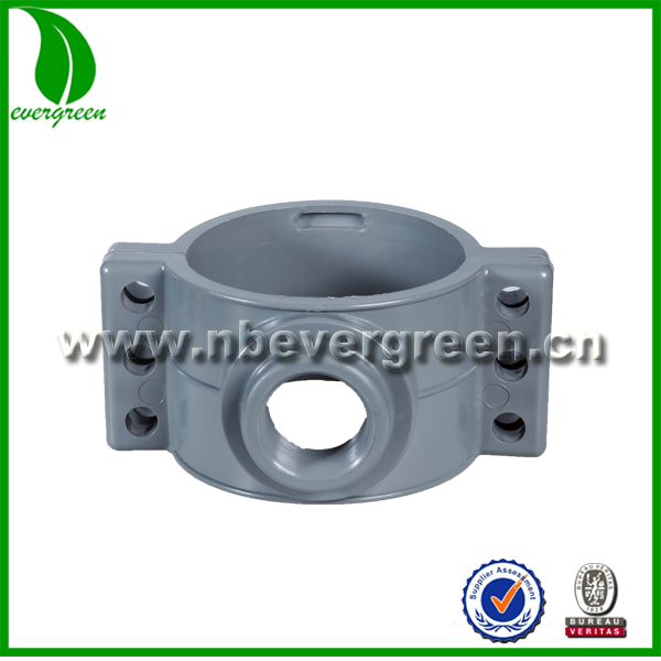 pvc pipe fitting Saddle clamp