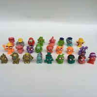 Free shipping wholesale 200pcs mini toys Trashy Treasure toy promotion gift zomlings toys for boys
