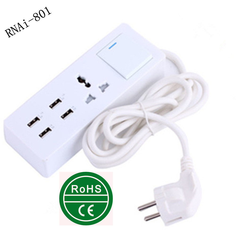 Electric Switch and Socket Modern / Popular Many Power Plug Socket Switch Electrical with CE& RoHS