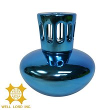 Blue small portable design OEM household fragrance tealight holder