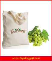 fabric vegetable bags recyclable cotton shopping bag fabric retail bags