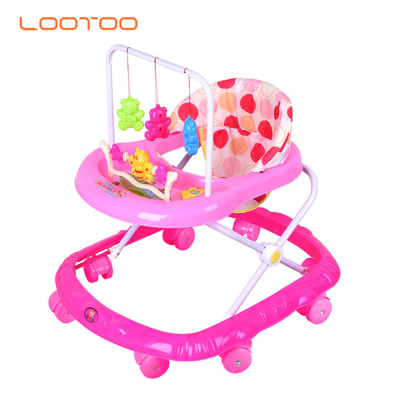 Cheapest high quality baby walker carrier trolley baby stroller 2019 bouncy walker