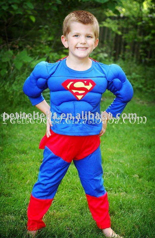 Muscle SuperMan Child Boy Costume MAC12