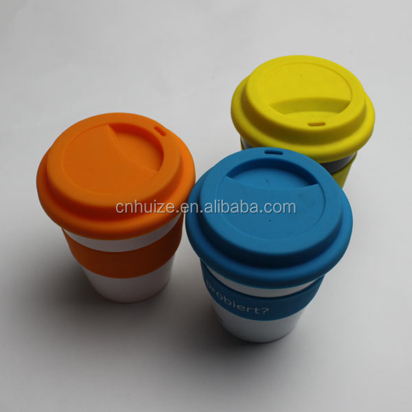 wholesale custom take away reusable plastic coffee cups with lids,150ml plastic cup