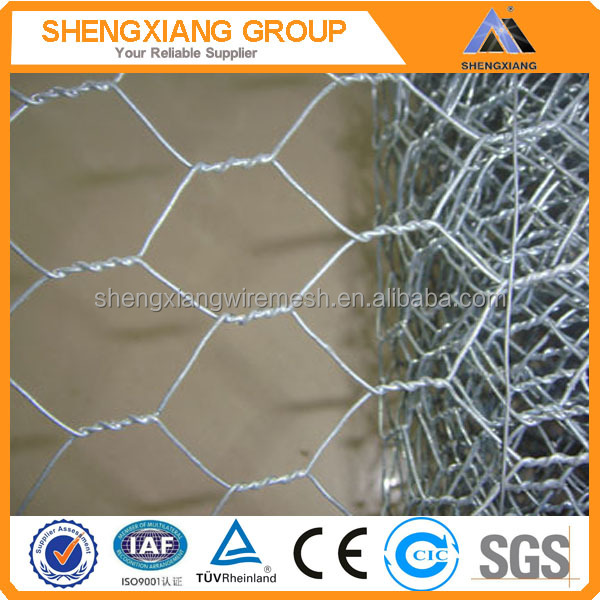 3/4'' Galvanized Hexagonal Poultry fence