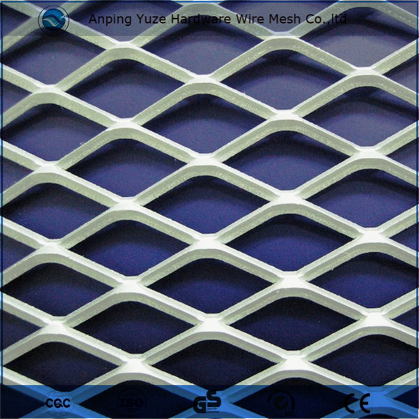 Powder Coated Expanded Metal Mesh/Stretch Metal Mesh