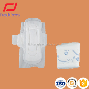Disposable 100 Cotton Competitive Price Sanitary Pads for Lady Disposable 100 Cotton