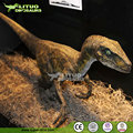Full Size Animated Velociraptor Dinosaur Model