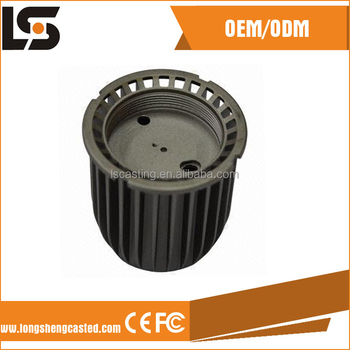 Aluminum die casting part Street lamp housing from alibaba China
