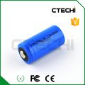 Cylindrical lithium battery CR17335 3V lithium battery CR123A