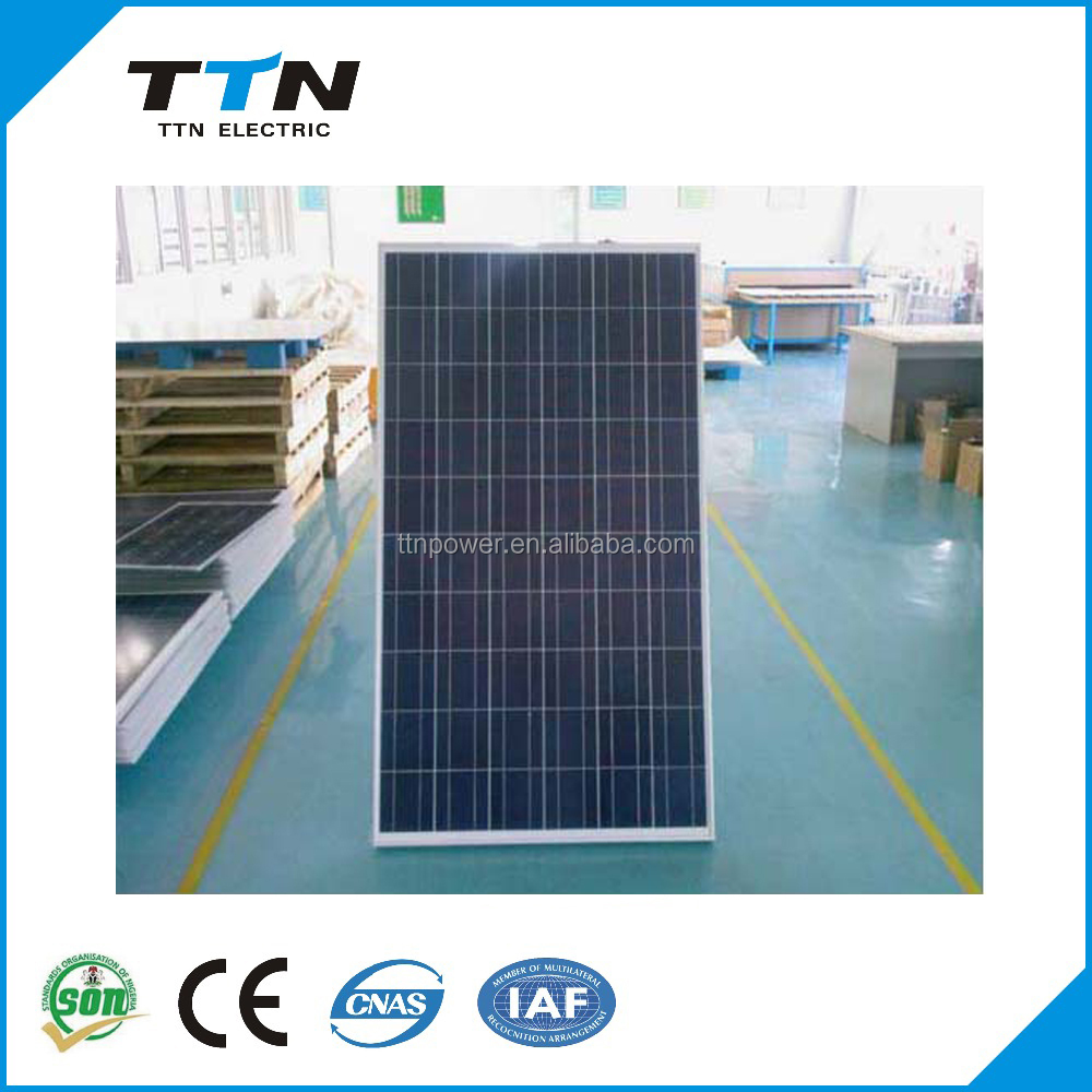 china best price 250 watt polycrystalline silicon solar panel