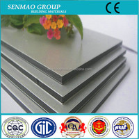 PE coat ACP/bathroom waterproof aluminum composite panel/wall cladding material