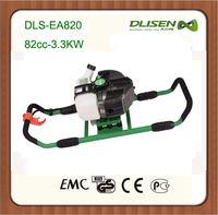 82cc Two men operated 2-stroke gasoline ground drill