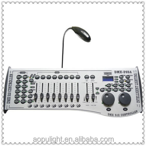 Newest product dmx controller disco machine 240 dmx controller with joystick