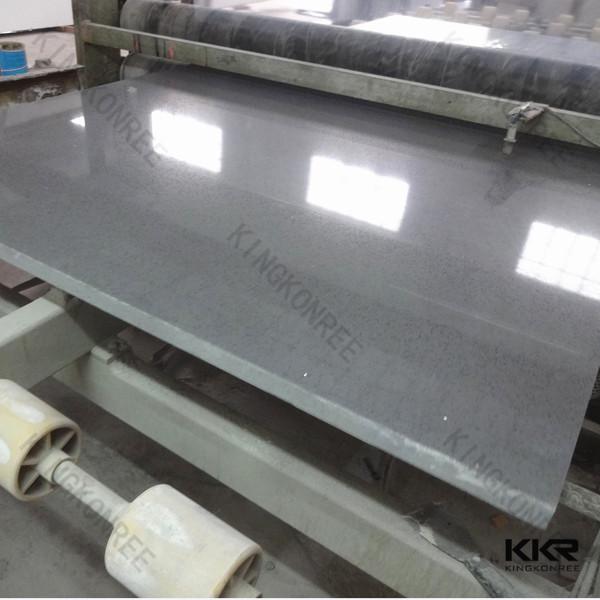 Alta calidad f cil de limpiar sparkle negro piedra de - Limpiar piedra artificial ...