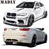 Madly Body Kit for BMW X6 E71 Style HM EVO Middle Flat Exhaust
