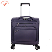 Wholesale 16 inches Pilot cabin trolley luggage case