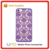 [UPO] Top Selling Carved Flower Damask Vintage Pattern Protector Hard Case Cover Phone Shell For iPhone 6s