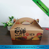 Strong corrugated board fresh fruits packaging boxes with handle