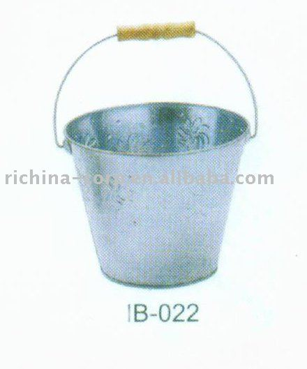 Galvanized Bucket, metal bucket, OEM color,