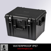 Plastic case hard ABS waterproof Plastic Tool Case /large container instrument box Model No. HTC016