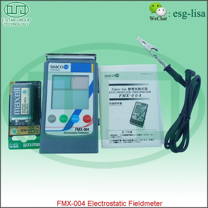fmx 004 electrostatic field meter manual