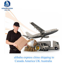 Online Shopping Freight Forwarding Agent Air Cargo Service Door To Door Delivery To USA Canada