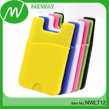 Promotional 3M Sticker Mobile Silicone Wallet Case