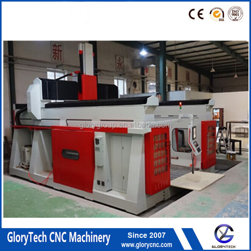 Large Boat/Car/ Shose Foam and Wood Moulds Making 5 Axis CNC Router Moulding Machine center