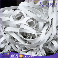 Factory direct supply white rubber band for swimwear