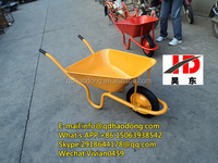 Colourful best quality solid wheel construction wheelbarrow WB3800 South Africa market