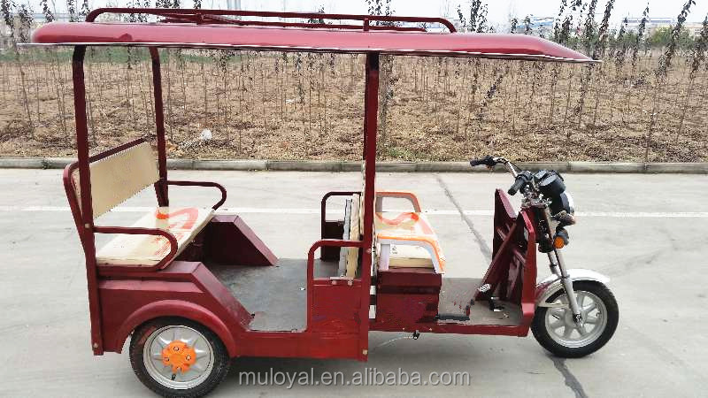 Electric Tricycle Electric Passenger Trike 3 Wheels Motorcycle for Taxi