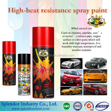 high temperature spray paint colors/black metal paint