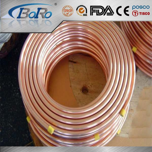Pancake coil split air conditioner copper pipe size