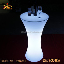 Glowing LED Bar Furniture Light up Cocktail Table and Chairs Illuminated Waterproof LED Bar Table led furniture