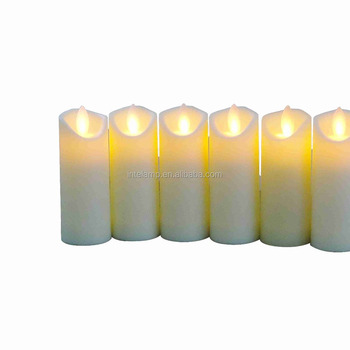 LED Candle light in fireproof design flame Electronic candle led candle light factory for grassland party