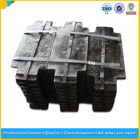 Elevator Steel Plate Counterweight Block for Cargo/Villa Elevators