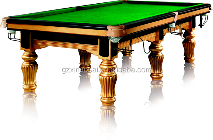 Solid wood 12ft english snooker tables