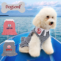 Top sale Anchor Stripe Summer Spring Pet Dog Puppy Dress Clothes