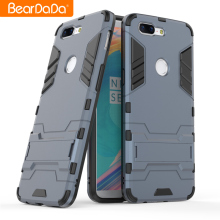 Shockproof kickstand tpu pc for one plus 5 case cover,for oneplus 5t back cover