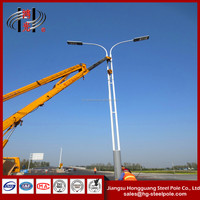 H10m Single Arm Steel Street Lighting