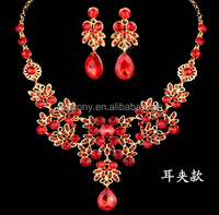 1% profit big discount promotion new products 2016 african wedding 2pcs bridal jewelry set